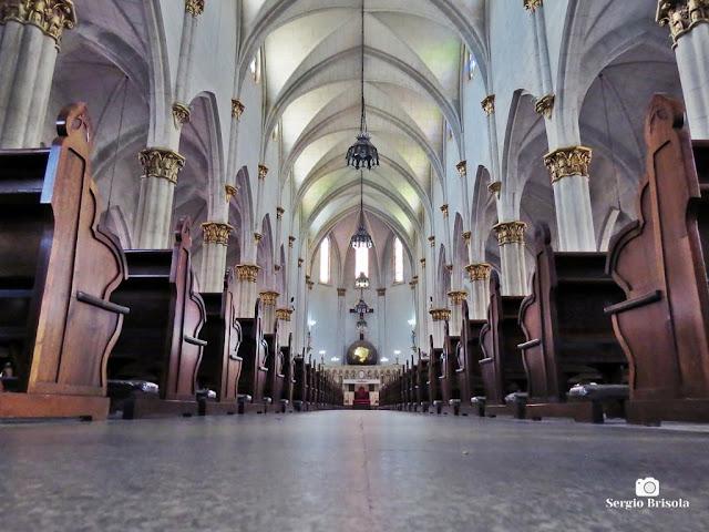 Perspectiva artística do interior da Paróquia Nossa Senhora Aparecida do Ipiranga - São Paulo