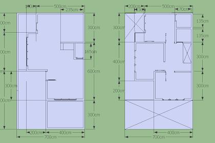 Desain Rumah Minimalis Sederhana, 2 Lantai Tipe 93 Luas tanah 84, 3 kamar tidur