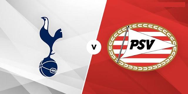 Tottenham vs PSV Eindhoven
