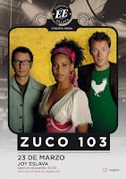 Concierto de Zuco 103 en Joy Eslava