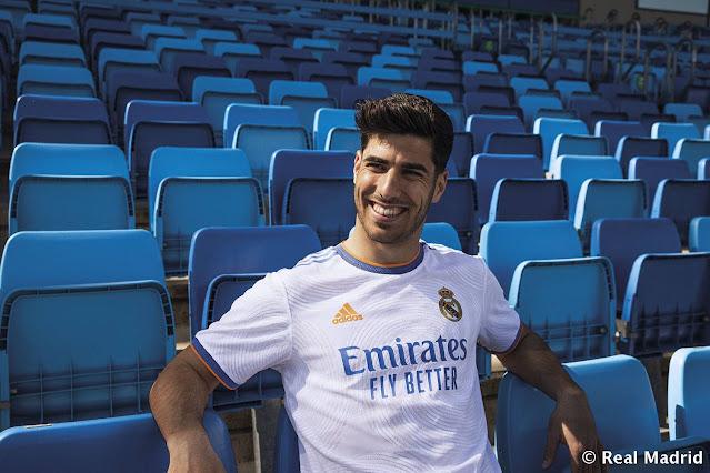 اسينسيو بقميص ريال مدريد الجديد 2021/2022