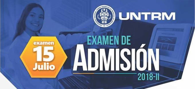 Resultados del examen de admisión UNTRM 2018 – 2