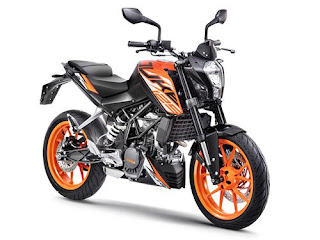 KTM 125 Duke price in India