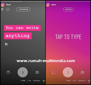 Cara Ganti Font Instagram Stories Terbaru