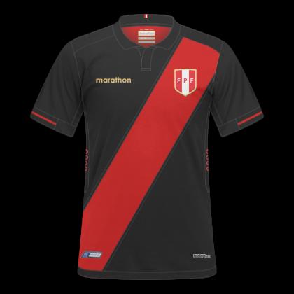 aeb259067 Descrição: Essas são as camisas que serão utilizadas pela Seleção Peruana  na Copa América de 2019. A Marathon fez camisas mais elegantes para a  seleção ...