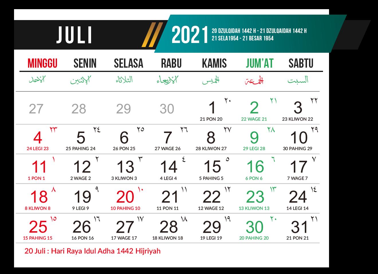 Download Desain Template Kalender 2021 Gratis PSD,PDF,CDR ...