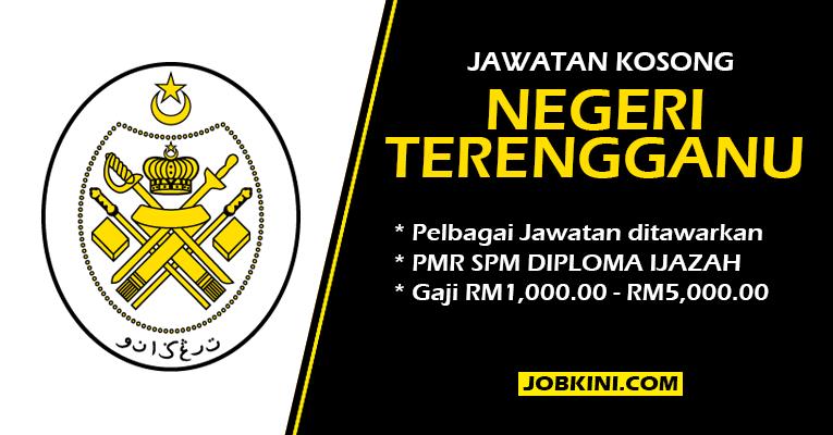 Jawatan Kosong Terkini di Negeri Terengganu