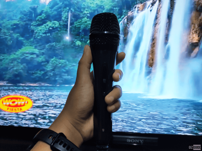 A high-quality microphone that can last a long time