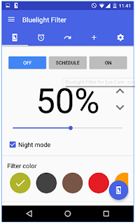 bluelight filter for android