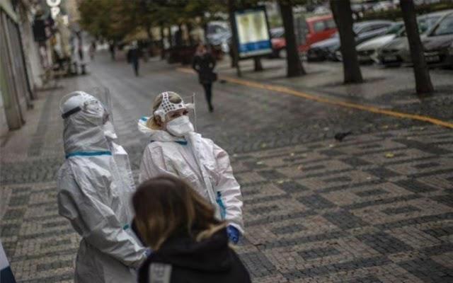 Rebrote obliga a países de Europa del Este a imponer nuevas medidas de confinamiento