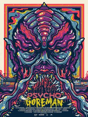 Psycho Goreman Movie Poster Screen Print by Drew Millward x Mondo