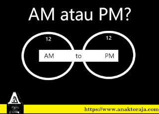 Perbedaan AM dan PM Lengkap Dengan Contohnya Penulisannya