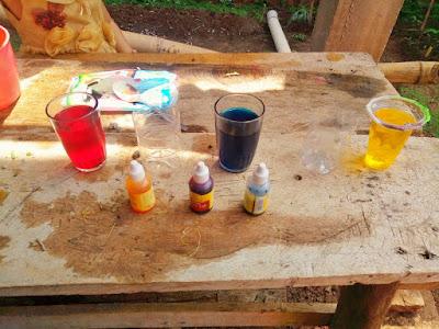 eksperimen mengajarkan warna untuk anak usia dini