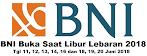 BNI Yang Buka Hari Raya Idul Fitri 1439 H Jawa Tengah & DIY - Lebaran 2018