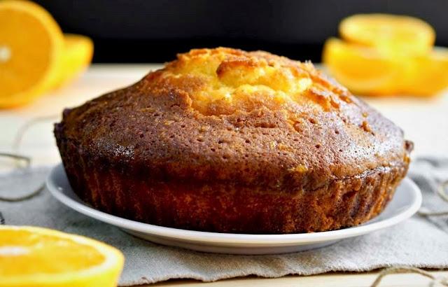 Orange Poke Cake
