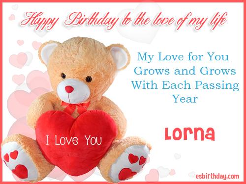 Happy Birthday Lorna