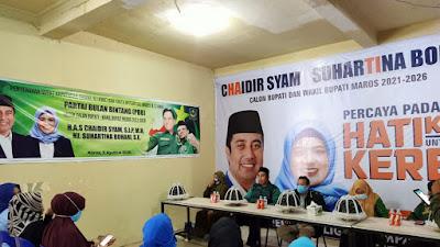 Partai Bulan Bintang Resmi Serahkan SK Dukungannya Ke Chaidir - Suhartina