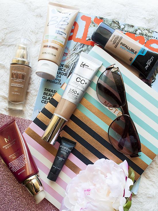 summer beauty, summer makeup, SPF foundations, bb cream