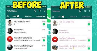 Cara Ganti Jenis dan Warna Huruf / Font Whatsapp Original Tanpa Aplikasi