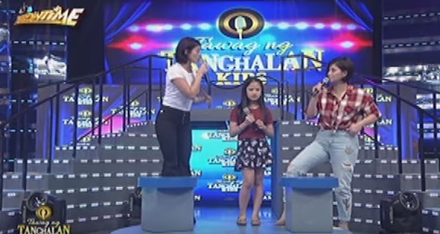 'Ano nga ba ako sayo?' - Angel Locsin And Tawag Ng Tanghalan Kids Contestant Did This During It's Showtime And The Audience Were Shocked About It!