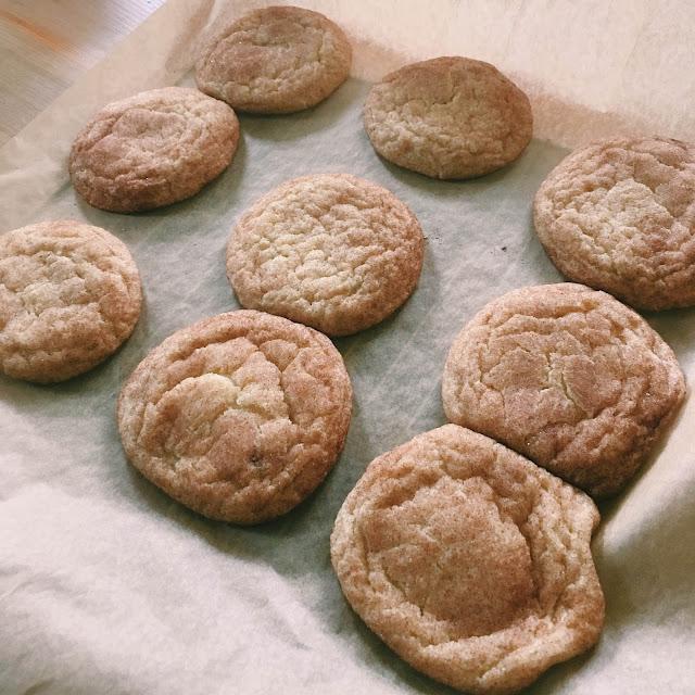 Soft Snickerdoodle Cookies