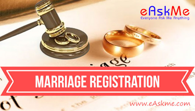 Marriage registration - Not taken seriously enough in this day and age: eAskme