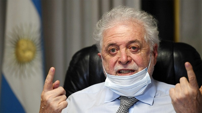 "Coronavirus: Ginés González aseguró que hay ""transparencia"" en la información que se brinda"
