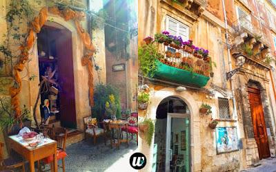 Decorated streets in Ortigia, Siracusa | Sicily, Italy | wayamaya