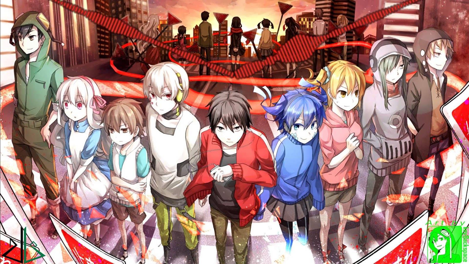 mekaku city actors 01 vostfr