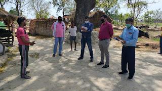 जौनपुर : बाहर से आये 16 लोगों के घर पहुंची स्वास्थ्य टीम, आस—पास मचा हड़कम्प