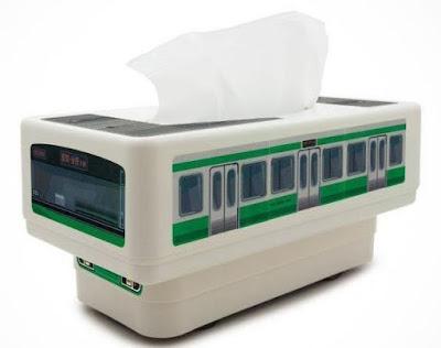 Rc Tissuebox Train