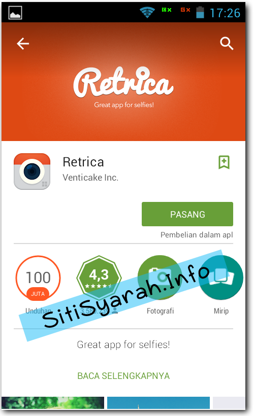 Alternatif Camera 360 Android