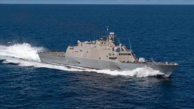 Buque espía de EEUU navega cerca de costas venezolanas