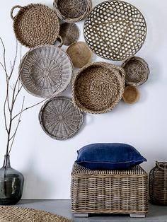 Decorar con cestas