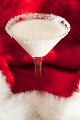 two turtle doves cocktail, christmas cocktail, vodka, coconut cream, half & half, white creme de cacao