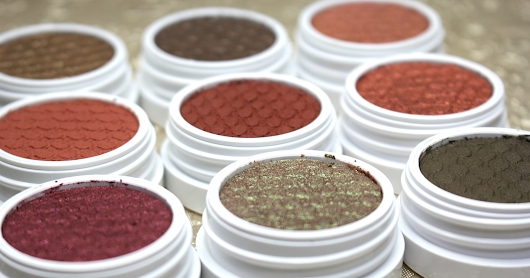 MY NEW COLOURPOP EYESHADOWS // + SWATCHES