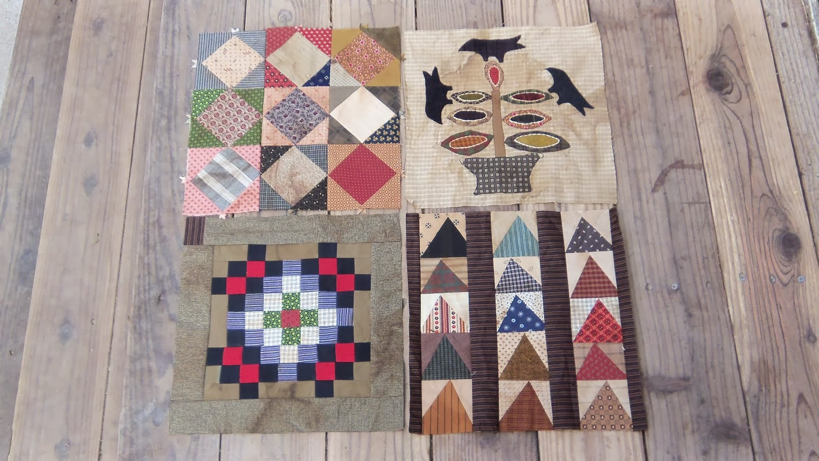 Common Threads .... blocks 1-4