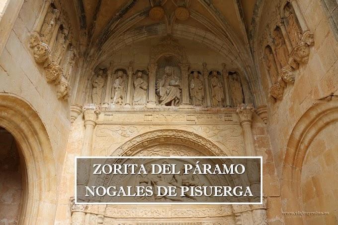Románico de la Ojeda: Zorita del Páramo y Nogales