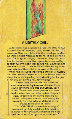 The Sorceress back cover