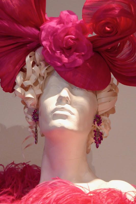 Blanca Pose season 1 earrings and headdress