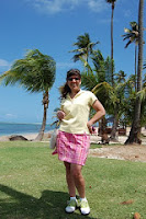 Stacy Solomon Golf for Beginners Puerto Rico