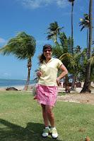 Stacy Solomon Golf for Beginners Puerto Rico
