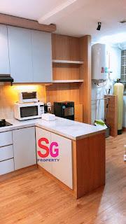 kitchen set orange county lippo cikarang