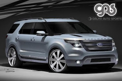 2020 Ford Explorer Sport Trac
