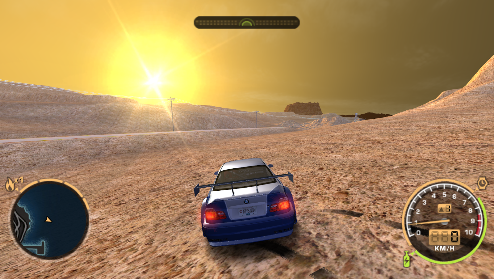 NFS-Toolkit #7 - Nevada Highway (ProStreet) to Most Wanted conversion