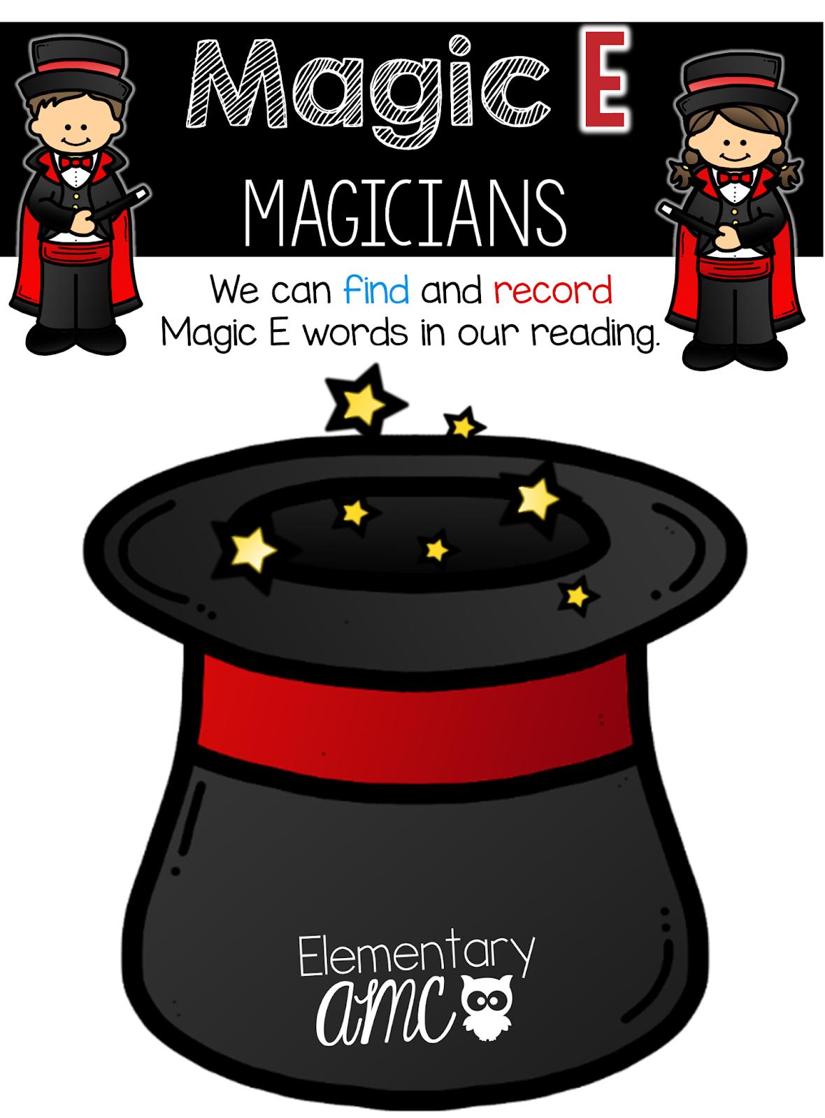 Teaching With Magic E