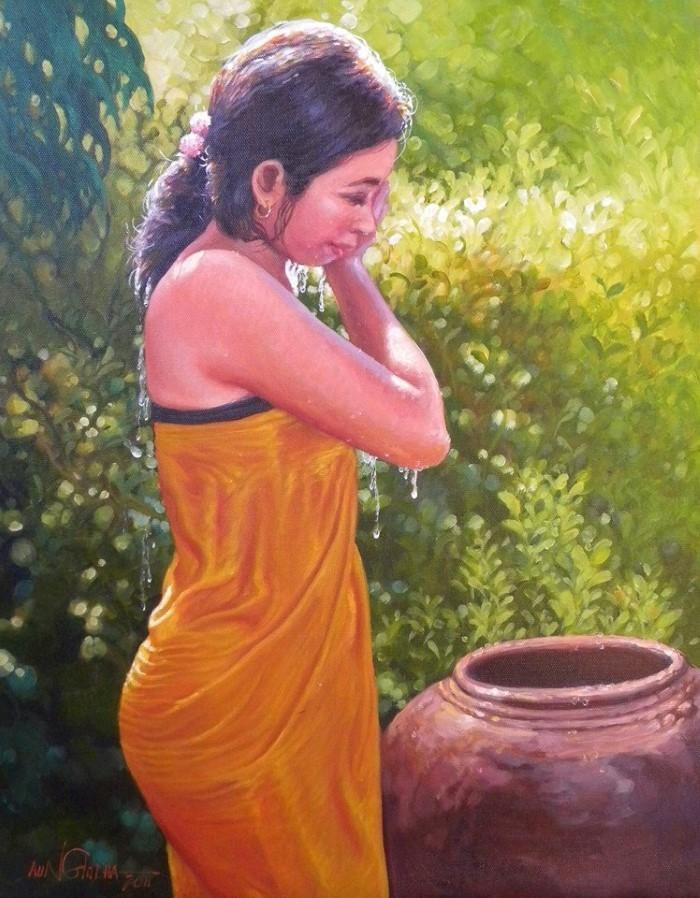 Мьянмский художник