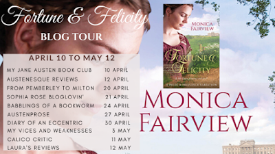 Blog tour: Fortune and Felicity by Monica Fairview