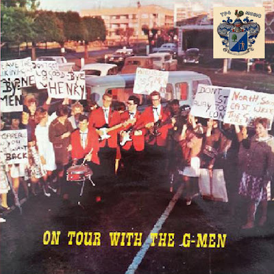 The G-Men  – On Tour With The G-Men (1962)